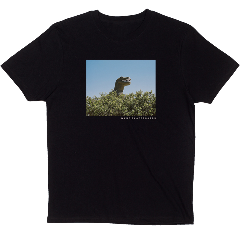 WKND Dino T-Shirt Black