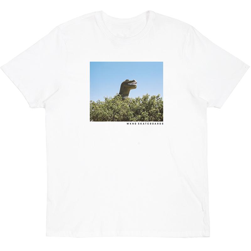 WKND Dino T-Shirt White