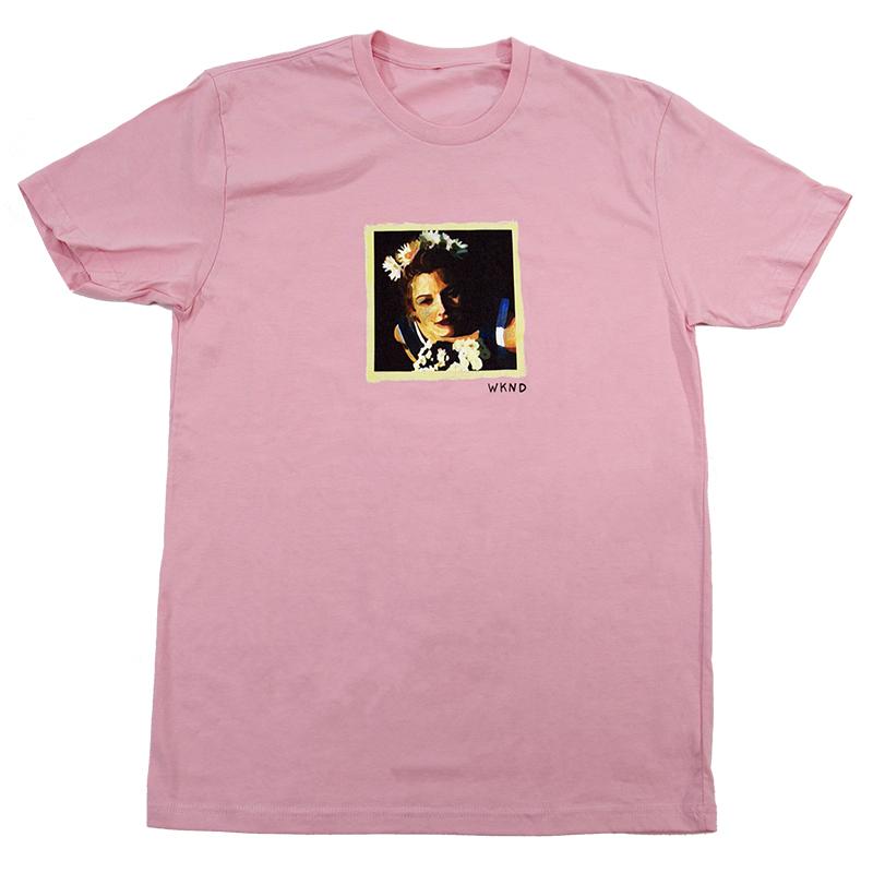 WKND Drew T-Shirt Pink
