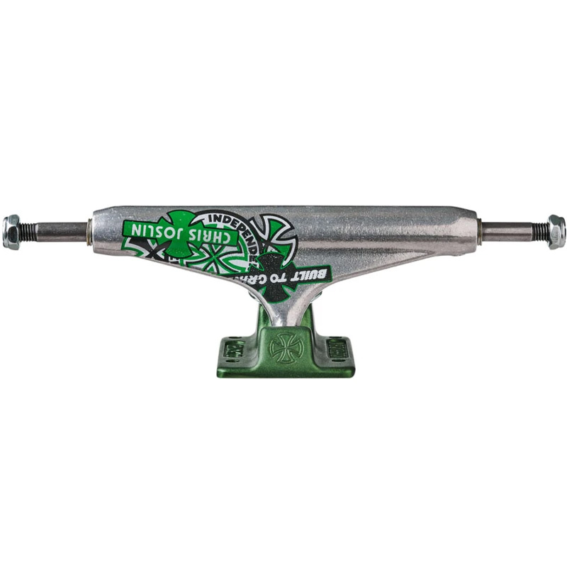 Independent Chris Joslin Stage 11 Forged Hollow Truck Silver/Green 139