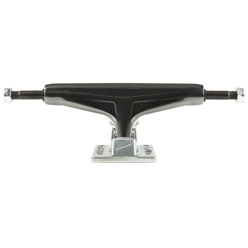 Tensor Mag Light Glossy Trucks Gunmetal/Silver 5.25 -set of 2-