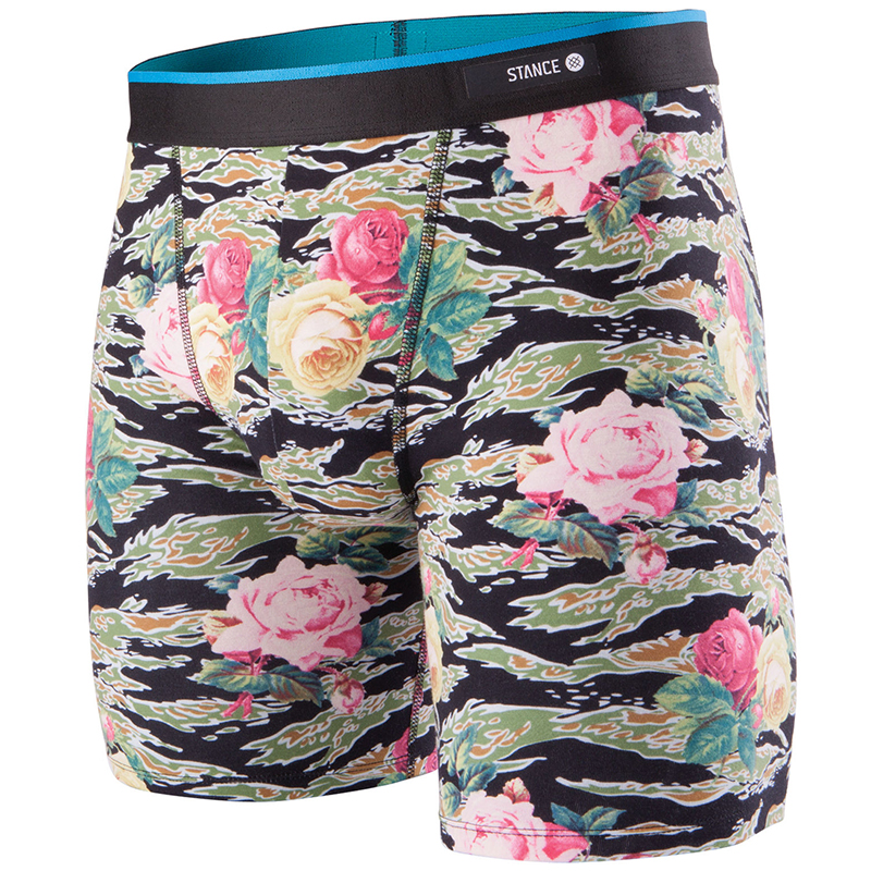 Stance Del Mar Tiger Roses Underwear Multi