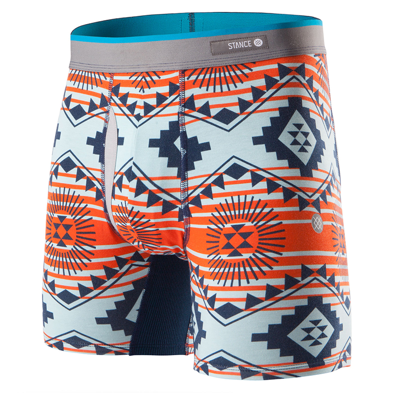 Stance Sunburst Underwear Red