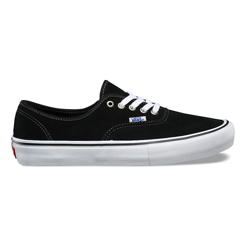 09f1e884e10 Vans Authentic Pro Suede Black Mens US 10 - Eur 43 - Skatestore.com