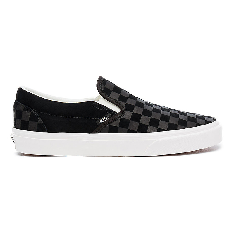 Vans Classic Slip-On Checker Emb Black/Marshmallow