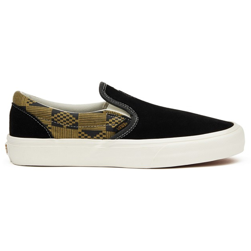 Vans Classic Slip-On S (Michael February) Black/Olive