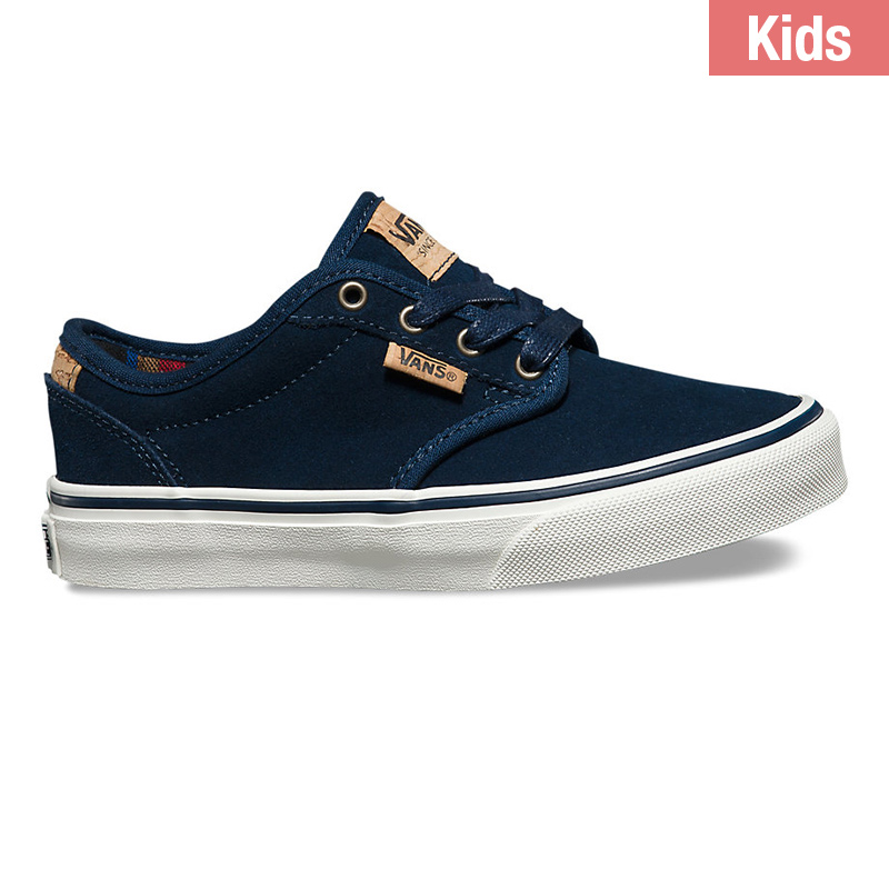 Vans Kids Atwood Deluxe Suede Blue/Blue