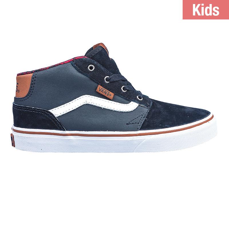 Vans Kids Chapman Mid Mixed Black/True White