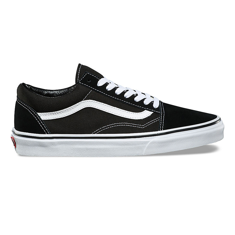 Vans Kids Old Skool Black/True White