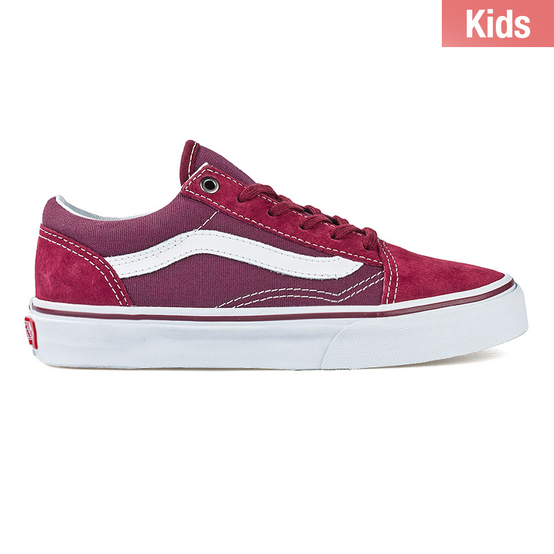 Vans Kids Old Skool Surplus Port Red