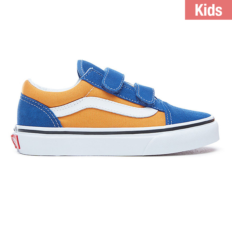 Vans Kids Old Skool V Pop Og Blue/Og Gold