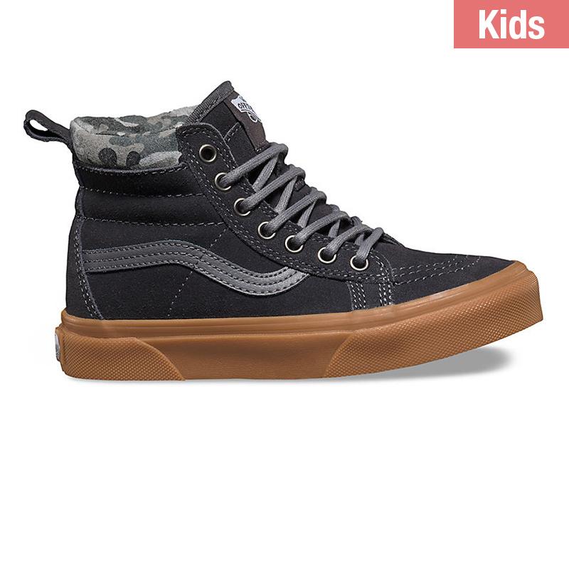 Vans Kids Sk8-Hi Matte Tornado/Asphalt
