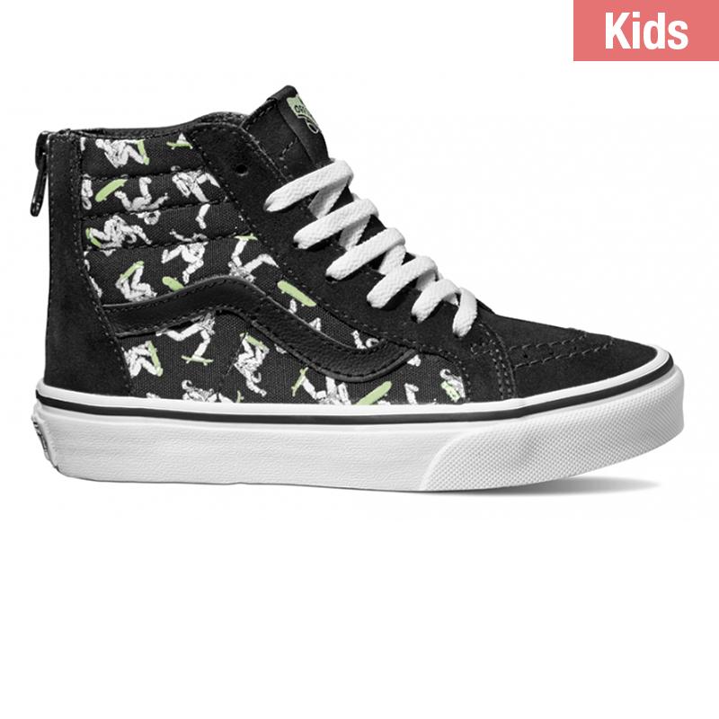 Vans Kids Sk8-Hi Zip Astronaut