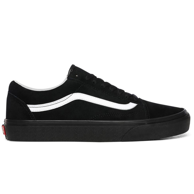 Vans Old Skool Pig Suede Black/Black