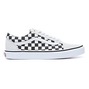 Vans Old Skool Checkerboard White/Black