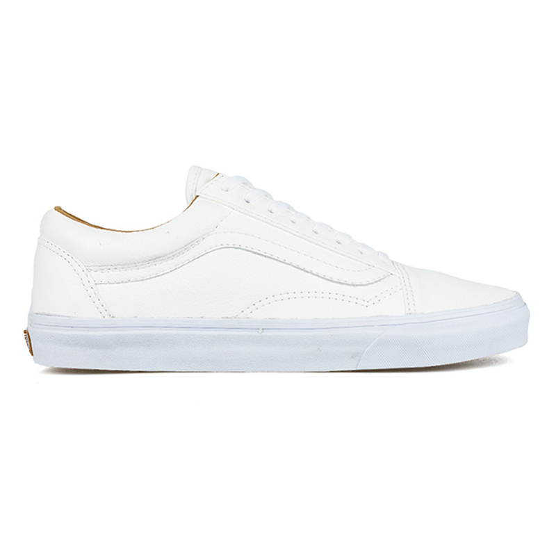 Vans Old Skool Premium Leather White