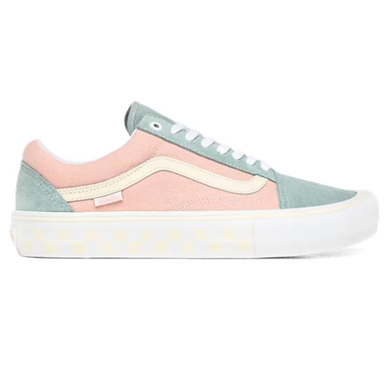 Vans Old Skool Pro (Washout) Peach/Blue