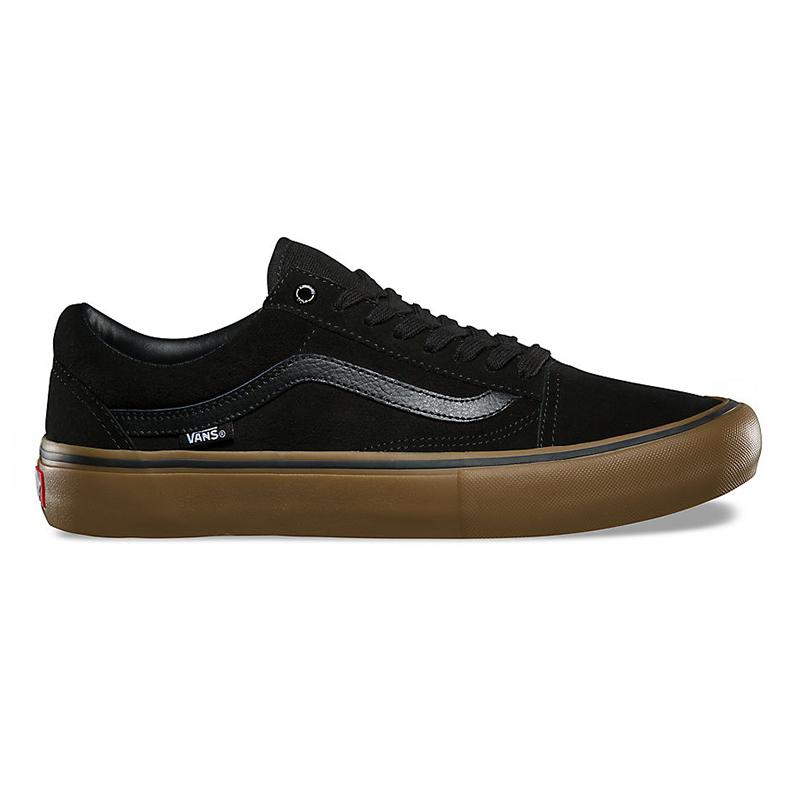 Vans Old Skool Pro Black/Gum/Gum