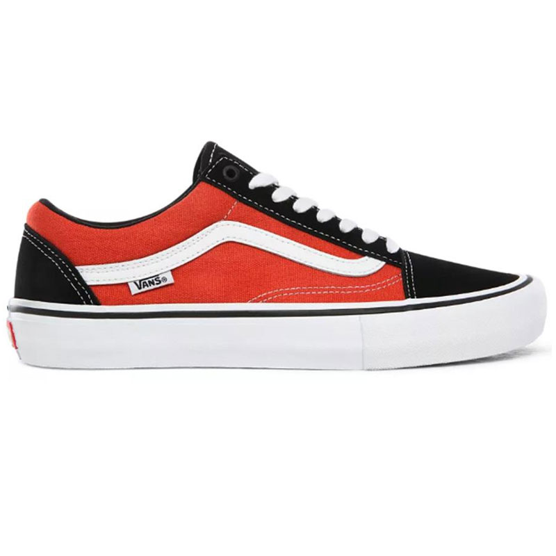Vans Old Skool Pro Black/Orange