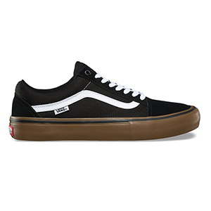 Vans Old Skool Pro Black/White/Medium Gum
