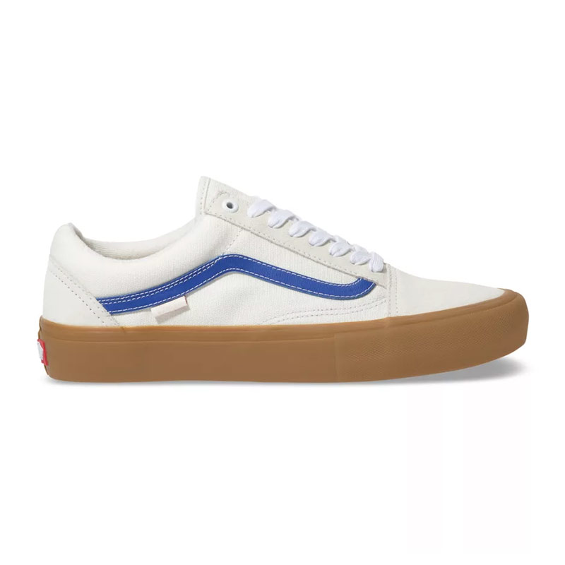 Vans Old Skool Pro Marshmallow/Blue/Gum