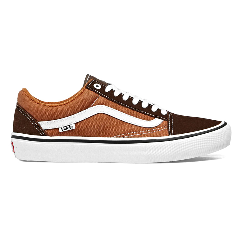 Vans Old Skool Pro Potting Soil/Leather Brown