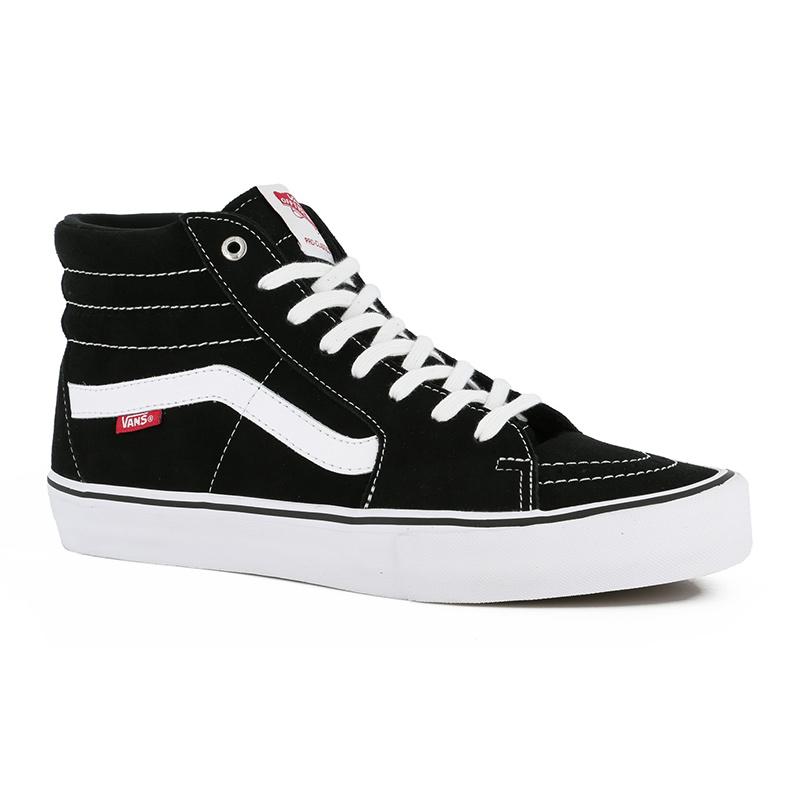 Vans x Thrasher Sk8 Hi Pro Black Skate Shoes | Vans shoes