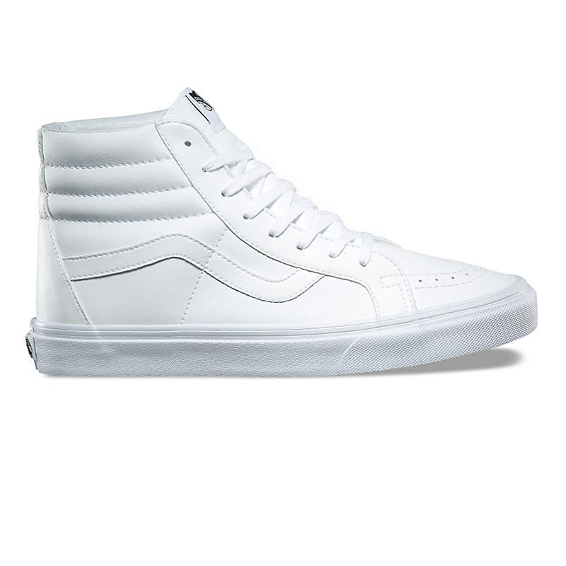 Vans Sk8-Hi Reissue Classic Tumble True White