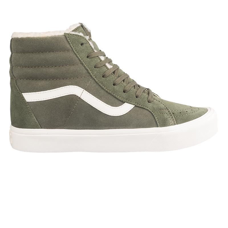 Vans Sk8 Hi Reissue Lite Sherpa Green