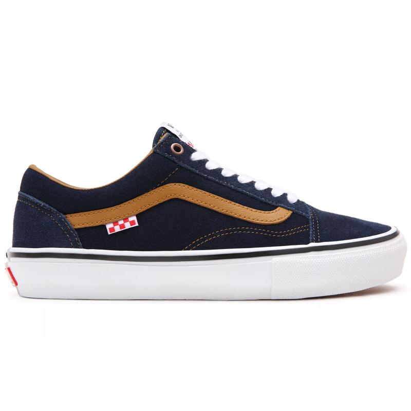 Vans Skate Old Skool (Reynolds) Navy/Golden Brown