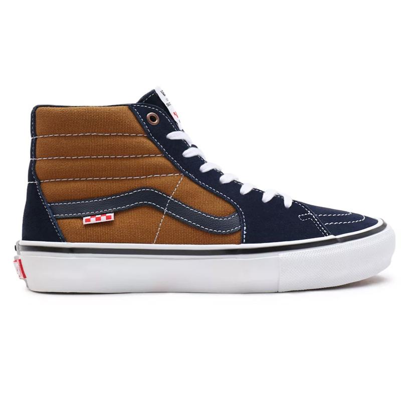 Vans Skate Sk8-Hi (Reynolds) Navy/Golden Brown