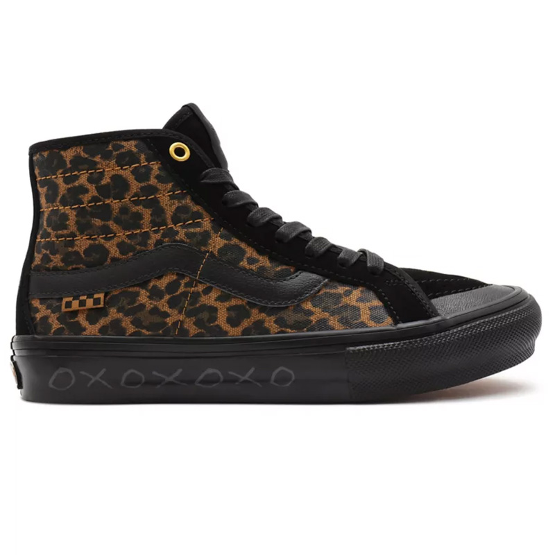 Vans Skate Sk8-Hi Decon (Cher Strauberry) Cheetah