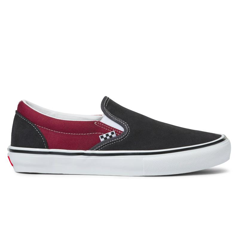 Vans Skate Slip-On Asphalt/Pomegranate