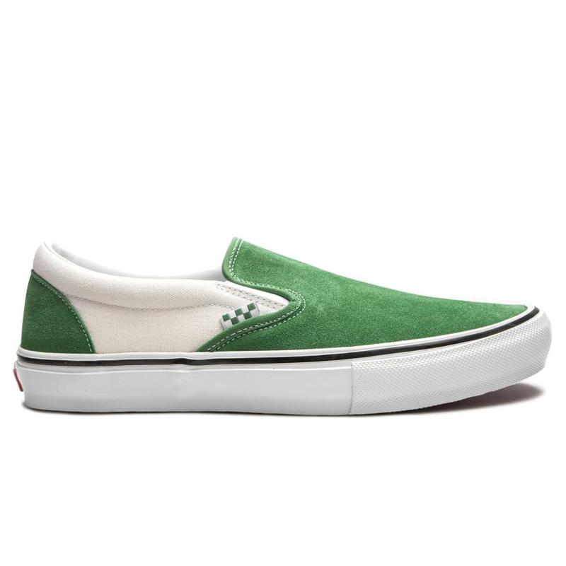 Vans Skate Slip-On Juniper/White