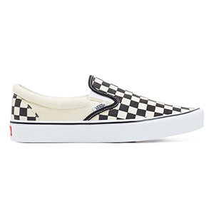 Vans Slip-On Lite Checkerboard Black/Classic White
