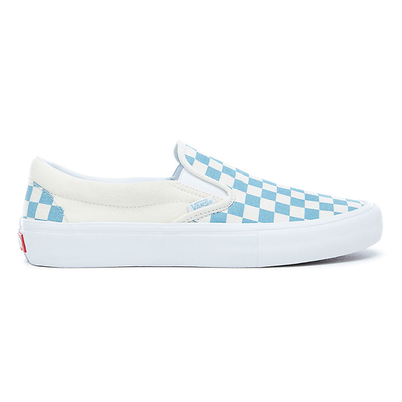 Vans Slip-On Pro Checkerboard Adriatic Blue/White