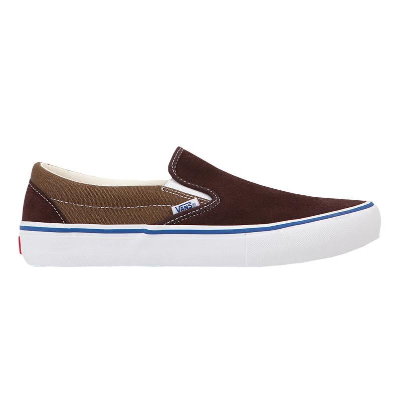 Vans Classic Slip-On Pro Two-Tone Coffee Bean/Teak