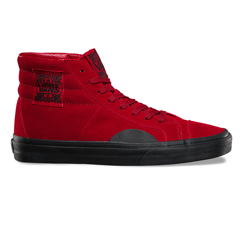 Vans Style 238 Native Suede Red/Black