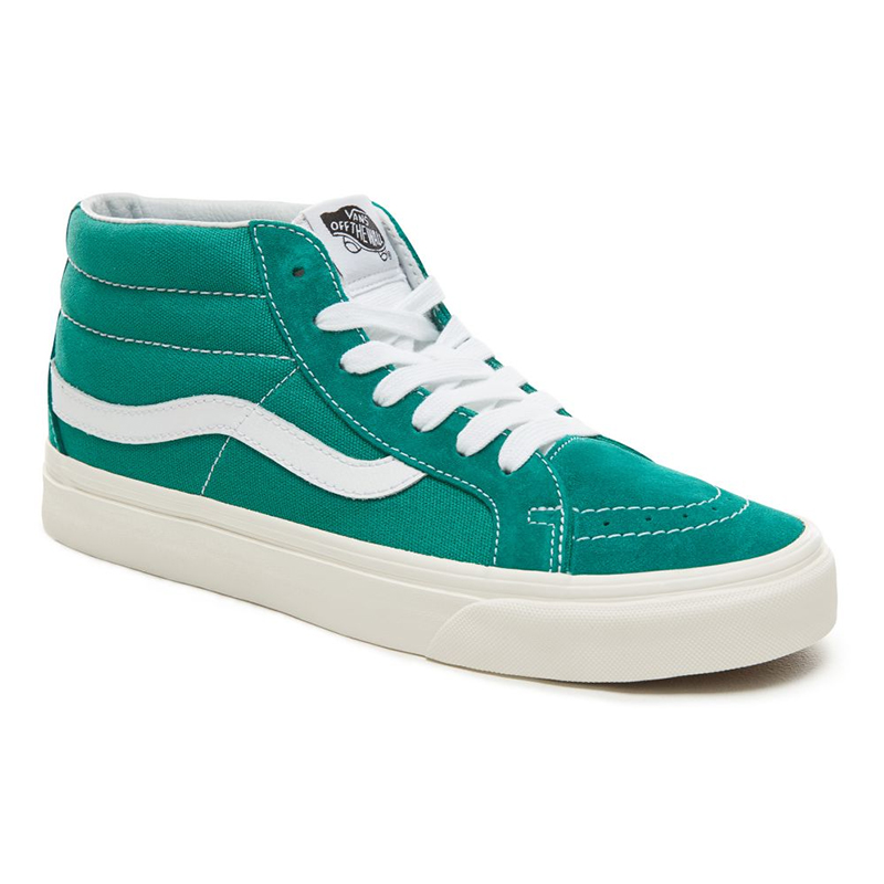 23e6f41592 Vans Suede Retro Sport Sk8-Mid Reissue Cadmium Green. undefined. Loading  zoom