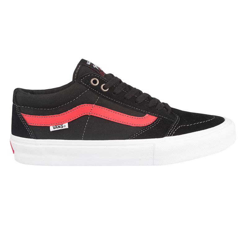 Vans Tnt Sg Black/Racing Red
