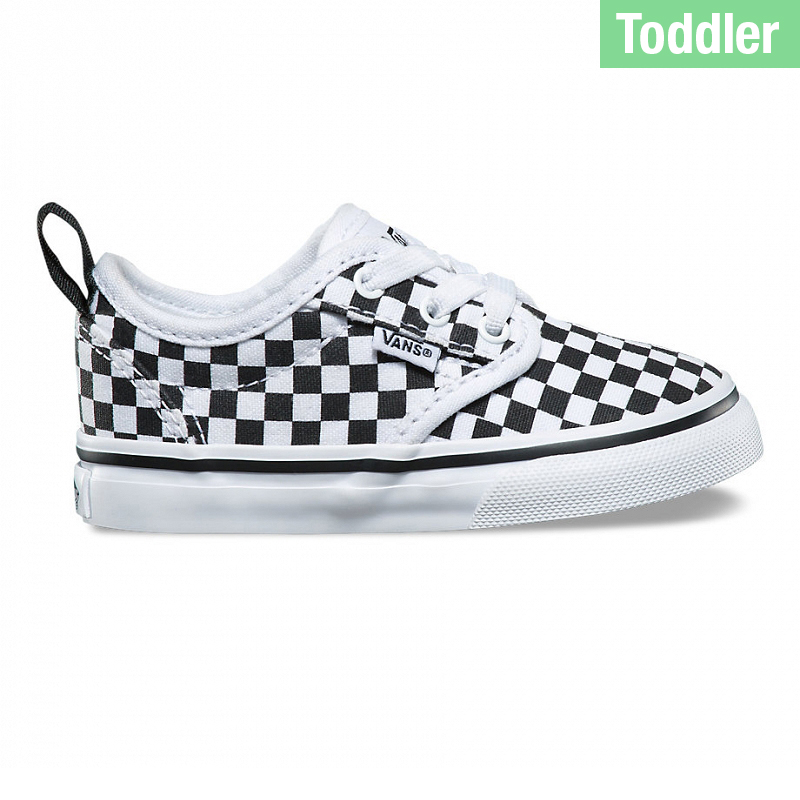 Vans Toddler Atwood Slip-On Checkerboard