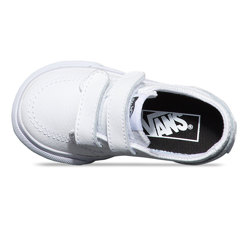 Buy white baby vans shoes ebe9226bec25