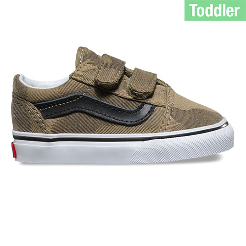 Vans Toddler Old Skool V Camo Jacquard