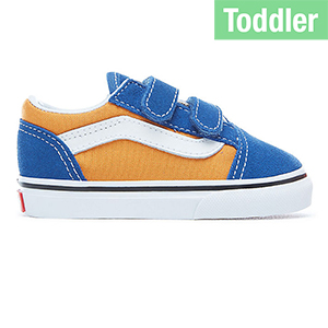 Vans Toddler Old Skool V Pop Og Blue/Og Gold