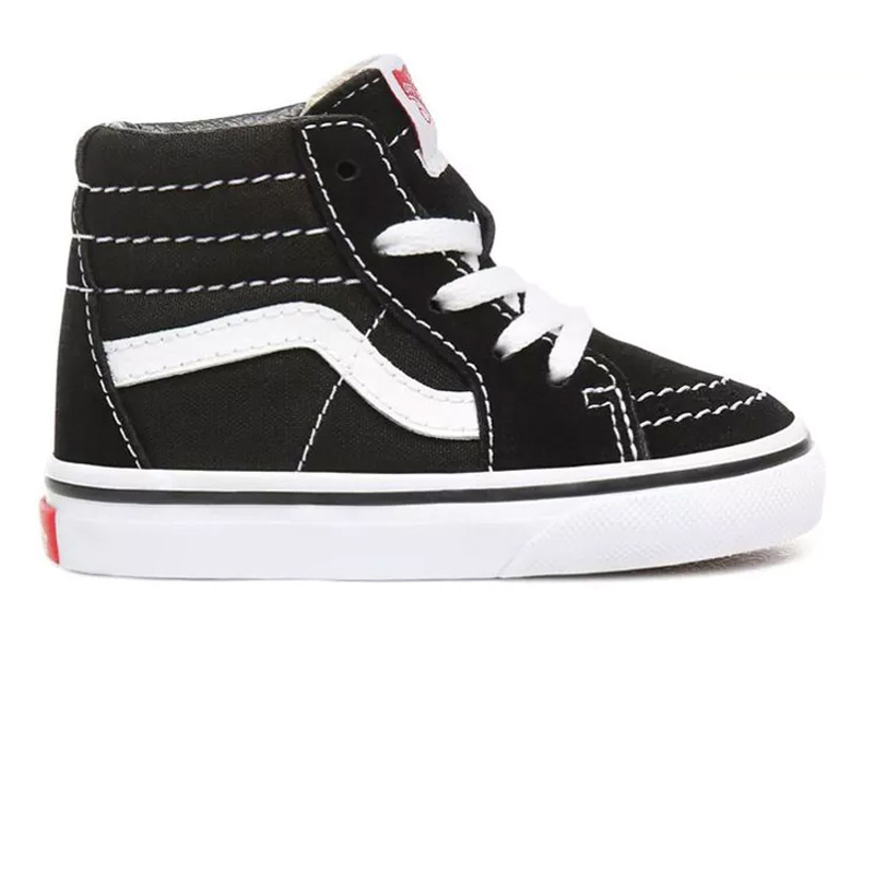 Vans Toddler Sk8 Hi BlackTrue White