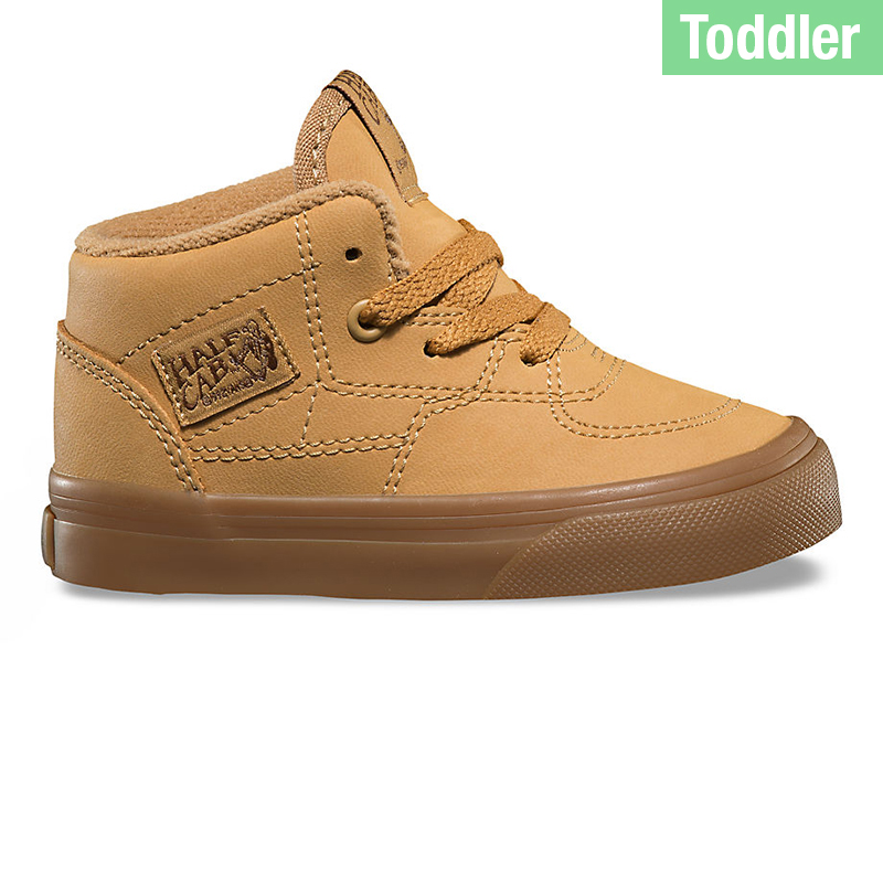 Vans Toddlers Half Cab Vansbuck Light Gum/Mono