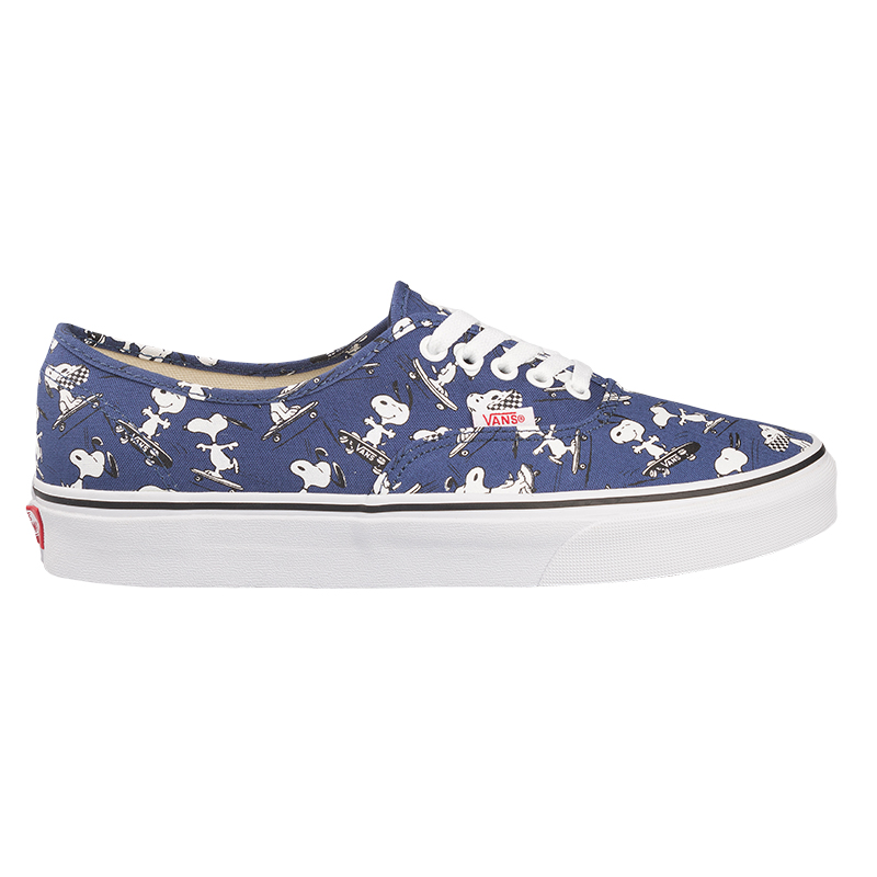 Vans X Peanuts Authentic Snoopy Skating Blue