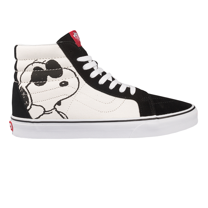 Vans X Peanuts Sk8-Hi Reissue Joe Cool Black/White