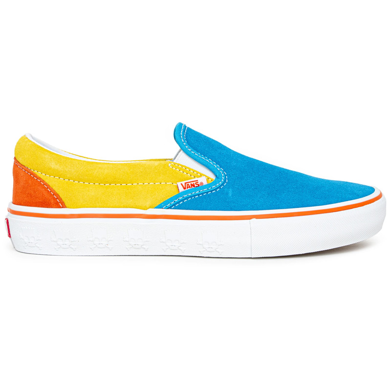 Vans X The Simpsons Slip-On Pro Blue/Yellow