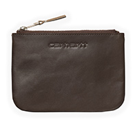 Carhartt Simple Zip Wallet Dark Brown